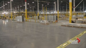 Amazon fulfillment centre construction on schedule